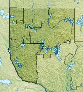 Voir la carte administrative de la zone Abitibi-Témiscamingue