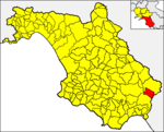 Locatio Castri Novum in provincia Salernitana