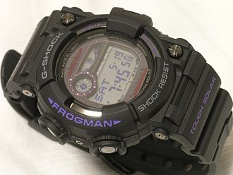 Master of G - Image: Casio G SHOCK FROGMAN GWF 1000BP 1JF 01a