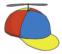 propeller hat, also known as a propeller beanie .