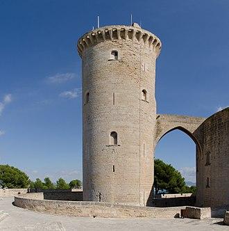 Bellver Castle - Donjon of the Bellver Castle