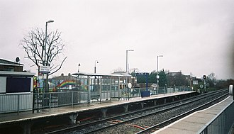 Castle Bar Park railway station - Image: Castlebarpark 303