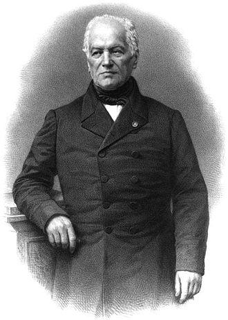 Joseph Grégoire Casy - Portrait from  Panthéon des illustrations françaises au XIXe siècle (1869)