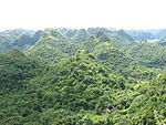 View from Ngu Lam Peak, Cat Ba National Park