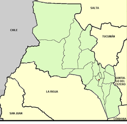Catamarca (Argentina), departments and capital.png