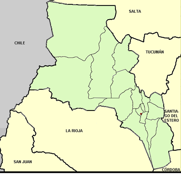 Ficheiro:Catamarca (Argentina), departments and capital.png
