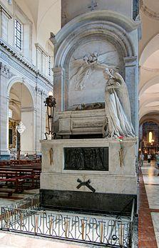La tomba di Bellini nel duomo di Catania