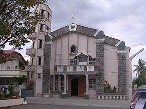 San Felipe, Zambales - Image: Cathedral of San Roque, San Felipe, Zambales, Philippines