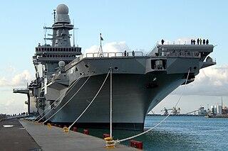 Italian aircraft carrier <i>Cavour</i> Italian aircraft carrier