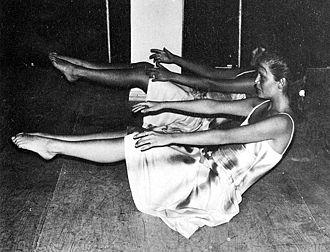 Cecilia Bolocco - Bolocco during her ballet classes in 1985.