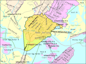 Census Bureau map of Somers Point, New Jersey.png