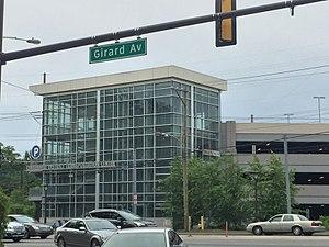 Centennial District (Philadelphia) - Girard Avenue at the Centennial District