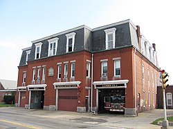 Central Fire Station Brockton Massachusetts Wikipedia