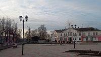 Central square of Kuvshinovo.JPG