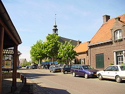 Broekhuizen town square