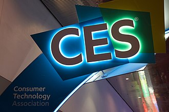 Consumer Electronics Show - CES Sign
