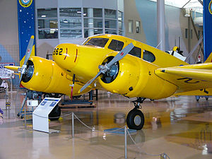 Cessna AT-17 Bobcat - RCAF Cessna Crane as employed in the British Commonwealth Air Training Plan on display at the Canadian Warplane Heritage Museum.