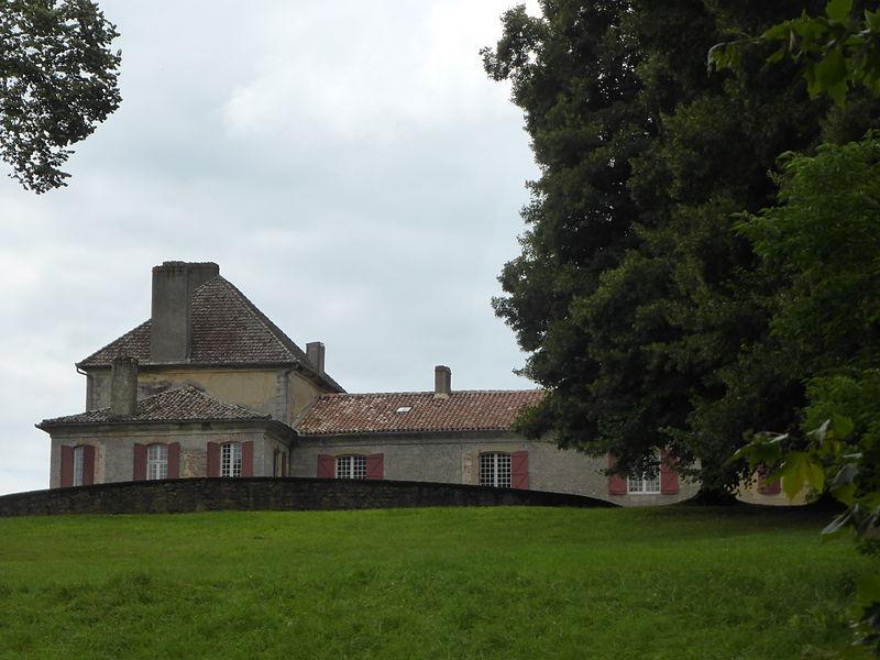 Château de Barrau, à Castex d'Armagnac, dans le Gers.