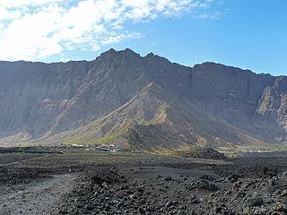 Chã das Caldeiras Settlement in Fogo, Cape Verde