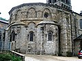 Chamalières -sur-Loire, chevet de l'église.JPG