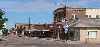 Chappell, Nebraska - Downtown Chappell: Second Street