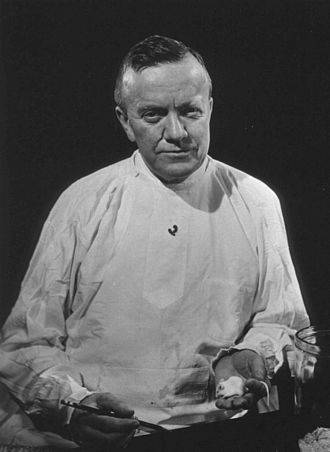 Charles Armstrong (physician) - Armstrong about 1950 in his laboratory courtesy of National Library of Medicine