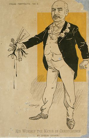 Charles Louisson - Charles Louisson caricature, 1899