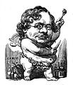 Charles Monselet caricaturé par Carjat - Le Figaro - 6 mars 1859.jpg
