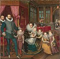 Charles d'Arenberg and Anne de Croy with family by F.Pourbus Jr. (c.1593, Arenbergkasteel).jpg