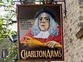 Charlton Arms sign from the north. - geograph.org.uk - 1244056.jpg