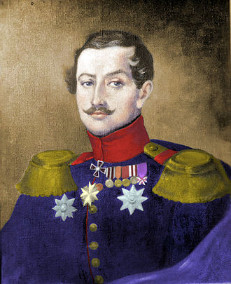 Ekaterine Dadiani, Princess of Mingrelia - Ekateriné's father, Alexander