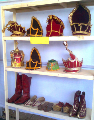 Chavittu Nadakam - The costumes used in Chavittu Nadakam
