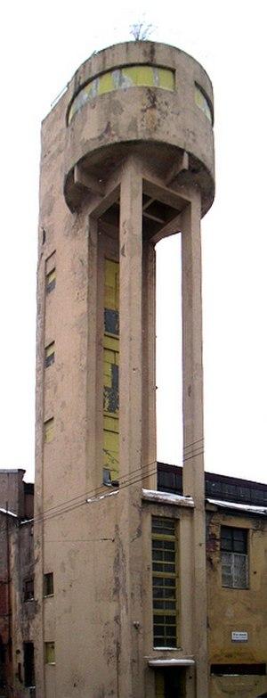 Yakov Chernikhov - Tower of the 'Krasny Gvozdilshchik' ('Red Carnation') Factory in St. Petersburg, February 2006