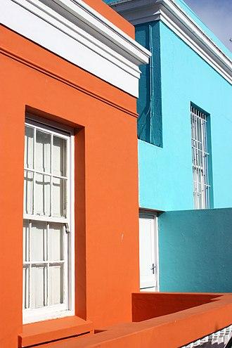 Bo-Kaap - Chiappini street houses
