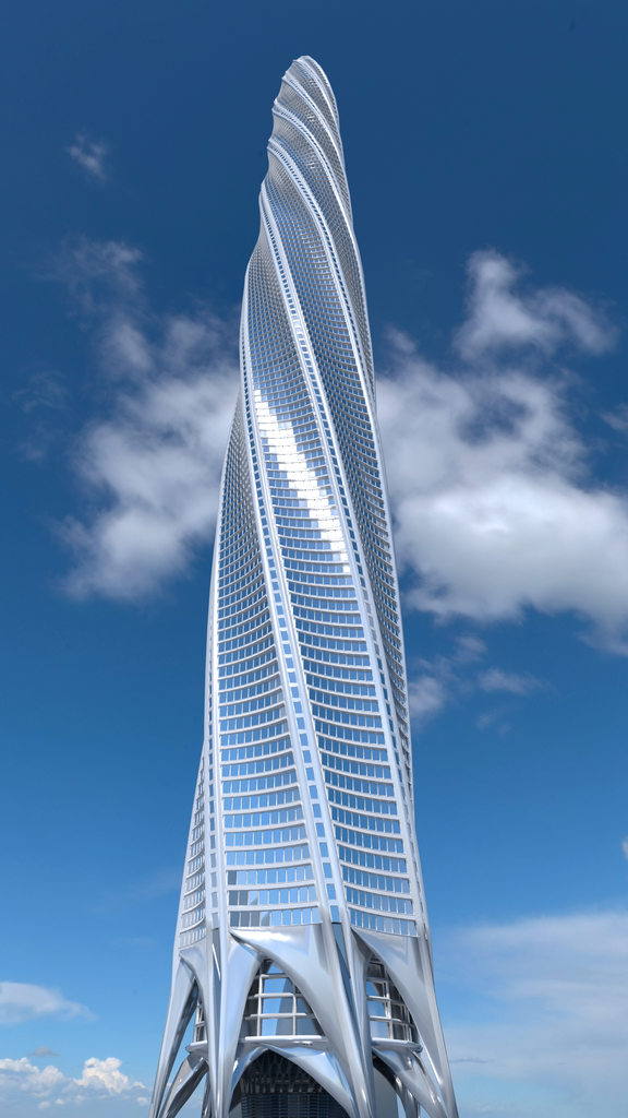 ad684c19020 File Chicago Spire.png - Wikimedia Commons
