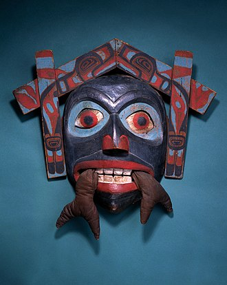 Fowler Museum at UCLA - Image: Chief's Mask from Haida peoples