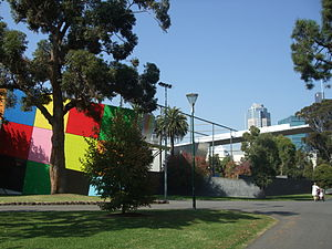 Melbourne Museum - Children's area of Melbourne Museum