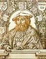 Christian II of Denmark, drawing by Jan Gossaert c 1523.jpg