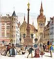 Christiansen - Der Marienplatz in München 1872.jpg