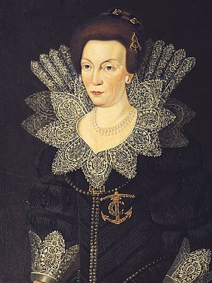 Christina of Holstein-Gottorp - Image: Christina of Sweden (1573) c 1610