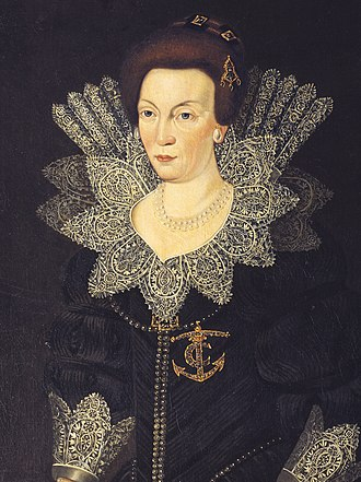 Christina of Holstein-Gottorp - Image: Christina of Sweden (1573) c 1610