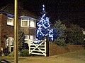 Christmas Tree on Canterbury Road (A28), Garlinge - geograph.org.uk - 837425.jpg