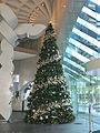 Christmas tree in Riverside Centre, Brisbane, Australia 2016.jpg