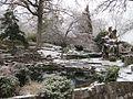 Chrystal Shrine Grotto and Pond Memphis TN Winter Snow 8.jpg