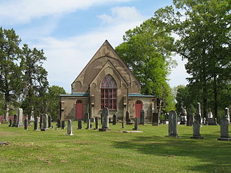Christ Church (Church Hill, Mississippi) - Image: Church Hill Cemetery