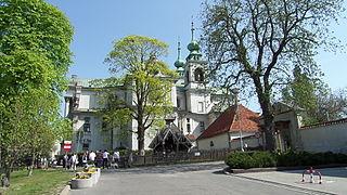 church building in Bielany, Poland