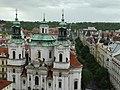 Church of St. Nicolas. Prague. Czech Republic. Церковь Святого Николая. Прага. Чехия - panoramio.jpg