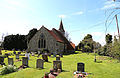 Church of St Michael, Leaden Roding, Essex, England - from the north-east.jpg
