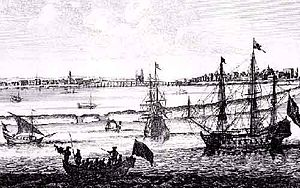 Dutch colonization of the Americas - Recife or Mauritsstad - Capital of the Nieuw Holland in Brazil