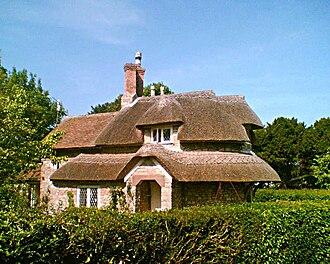 Blaise Hamlet - Image: Circular Cottage, Blaise Hamlet